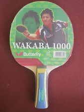 Butterfly Wakaba 1000 Ping Pong Paddle Table Tennis Racket