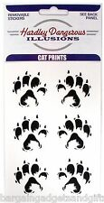 6 CAT DOG ANIMAL LOVERS PET PAW FOOT PRINT CAR STICKERS GIRLS KIDS FUNNY PRESENT