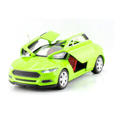 Green 1:32 Scale Ford Evos Concept Car Diecast Model Sound & Light Pullback 1/32