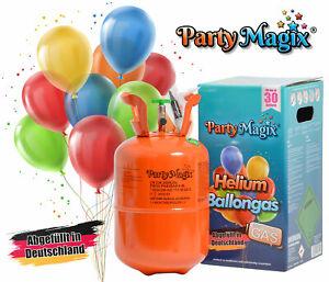PartyMagix Helium Ballons Heliumflasche Heliumgas Ballongas Heliumgasflasche