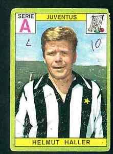 Figurina Calciatori Panini 1968-69! Haller! Juventus! Rec