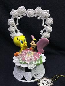 Tweety Bird Garden Butterfly Warner Brothers Looney Tunes Wedding Cake Topper