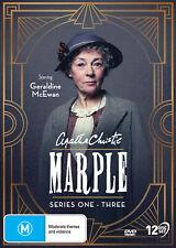 Agatha Christie's Miss Marple - Series 1 + 2 +3 DVD (New/Sealed) Region 4