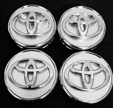 4pcs set chrome center wheel logo hub rim cap fit for Toyota Prius corolla Yaris