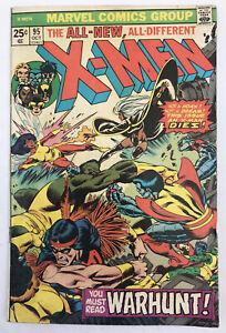 X-Men #95 - 3rd App New X-Men - Death Of Thunderbird - Marvel Comics