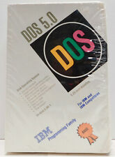 "Sealed DOS 5.0 Version 5.00.1 IBM PC 5.25"" Floppy Software OS (1992)"