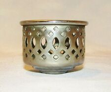"Chimney Holder, 1-1/4"" Inside Diameter, 1-1/2"" High, Chrome"