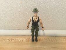 Vintage 1986 GI Joe Sgt Slaughter Figure Sergeant Sarge Triple T