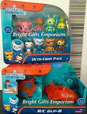 Octonauts 8 Octo Crew 8 Pack + RC GUP B R/C Remote Controlled Kwazii DGD58 NEW!