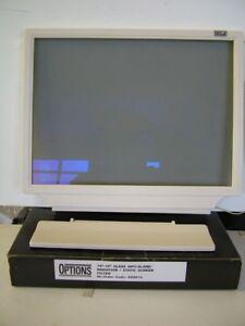 CRT Screen Filter 14-15 inch Hanging Glass anti-glare, anti-static,radiation