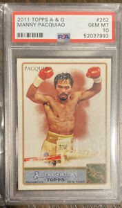 2011 Topps Allen & Ginter Manny Pacquiao #262 PSA 10 GEM MINT Philippines Boxing