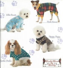DOG SHIRTS & SWEATSHIRTS S-M-L Sewing Pattern Simplicity 3939 UNCUT Woofie Wear