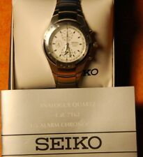 Seiko mens watch Cal 7T62 - vintage chronograph new battery