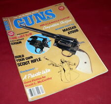 GUNS MAGAZINE APRIL 1987 - 1903 Springfield - The.44-40 Rides Again