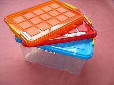 Aufbewahrungsbox Universalbox mit Deckel •L x B x H: 40 x 29 x 21 cm Stapelbox