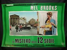 FOTOBUSTA CINEMA - IL MISTERO DELLE 12 SEDIE - MEL BROOKS - 1970 - COMMEDIA - 05
