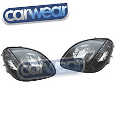 MERCEDES BENZ R170 SLK-CLASS 97-03 BLACK HEAD LIGHTS ROADSTER SPORT HEAD LAMP