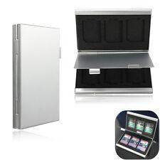 Aluminum 6x SD SDHC MMC Memory Card Storage Box Case Holder for Canon Nikon Sony