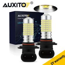 2x 6000K Super White H10 9145 2800Lm Led Headlight Fog Driving Light Drl Bulbs