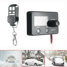 1PC LCD Monitor Switch & Remote Control 4 Button For Truck Car Air Diesel Heater