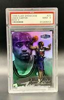❤️1998 FLAIR SHOWCASE VINCE CARTER ROOKIE REFRACTOR MINT PSA 9 ROW 3 #25❤️