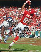 Tony Gonzalez Autographed Signed 8x10 Photo HOF Chiefs REPRINT