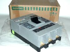 New SIEMENS HJXD63B400 Sentron Molded Case Circuit Breaker 400amp 480-600v 3p