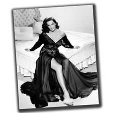 Jane Russell FINE ART Vintage Rare Star Photo Glossy Big Size 8X10in N045