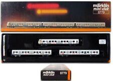 Marklin Z Scale 8779 - 3 S Bahn Passenger Car Set - Original Box New C9