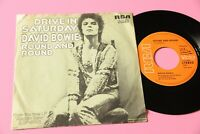 """Bowie 7 """" Drive IN Samstag Germany Ovp 1973 EX"""