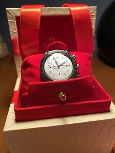 Omega Speedmaster Mother of Pearl Dial Stunning condition choice of straps