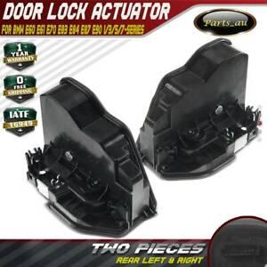 2x Door Lock Actuator Rear L + R for BMW E60 E61 E70 E83 E87 E90 1/3/5/7-Series