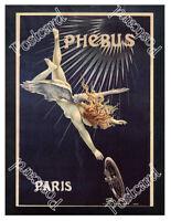 Historic Cycles Phébus, ca 1896 Advertising Postcard