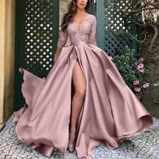 Damen Spitze Abendkleid Ballkleid Partykleid Silverster Party Kleid S - 5XL QC04