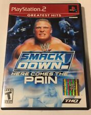WWE SmackDown Here Comes the Pain (Sony PlayStation 2, Ps2) Complete