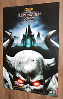 The Temple of Elemental Evil (video game) rare German Promo Poster 84x59.5cm