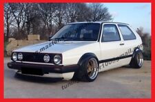 VW GOLF / JETTA mkII / mk2 WHEEL ARCH EXTENSIONS - FENDER FLARES - VOOMERAN look