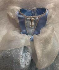 "Disney Princess Cinderella 18"" Porcelain Doll Replacement Blue Dress Slip Pants"