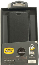 OtterBox Symmetry Series Etui Folio Protection Case for iPhone 7/8 & SE 2020-BLK