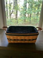 Longaberger Collectors Club Welcome Home Basket Combo