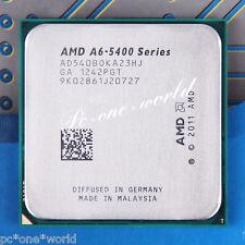 100% OK AD540BOKA23HJ AMD A6-Series A6-5400B 3.6 GHz dual-core Processor CPU FM2