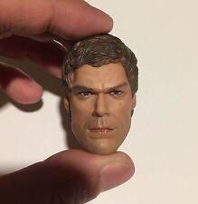 ██ Custom Dexter Morgan 1/6 Head Sculpt for Hot Toys Body Michael C. Hall ██