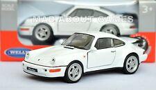 PORSCHE 911 964 TURBO 12 cm Opening Doors Pull Back & Go Metal Diecast