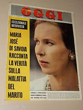 OGGI=1964/21=MARIA GABRIELLA DI SAVOIA=ALFA ROMEO GIULIA 1300=ENZO TORTORA=