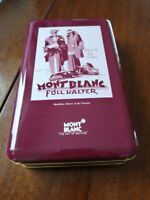 "Montblanc ""Nostalgia Box""  two tin boxes for pen's  collectors"