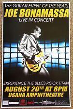 JOE BONAMASSA 2015 Gig POSTER Utah Concert