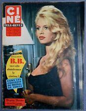 ►CINE REVUE 37/1959-BRIGITTE BARDOT-MARINA VLADI-ROMY SCHNEIDER-CURD JURGENS...