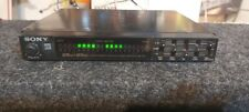 old school vintage Sony equalizer power amplifier Xm-e50