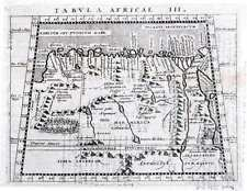 Antique map, Tabula Africae III