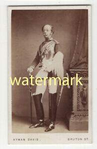 Colonel Howard-Vyse, LIfe Guards? uniform, CDV